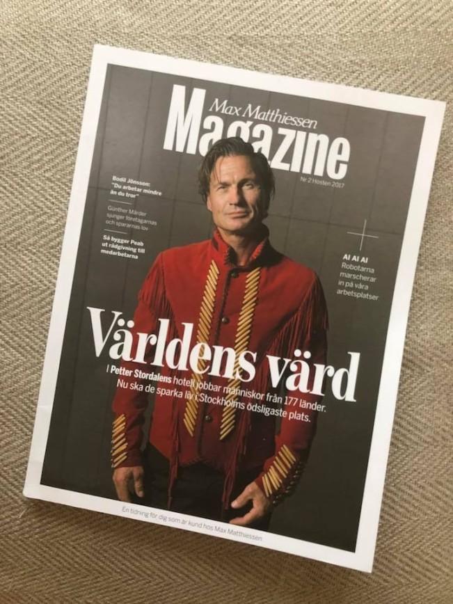 Petter Stordalen framsida MM Magazine 2017